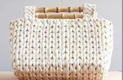 como hacer bolsos de trapillo con dos agujas modelos de moda
