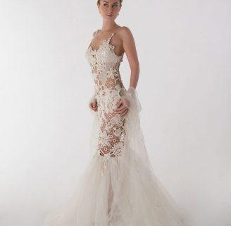 como hacer un vestido en crochet de novia espectacular