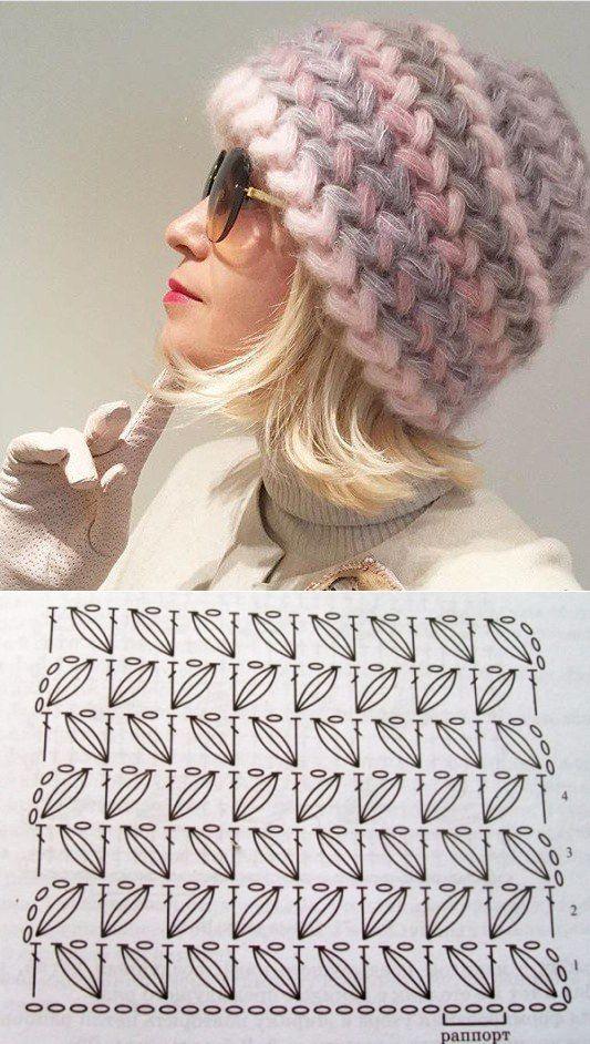 0d9c0e7e776d1 Trabajar un Anillo Base 2como-hacer-un-gorro-en-crochet-para-mujer