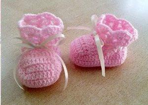 4-como-hacer-escarpines-en-crochet