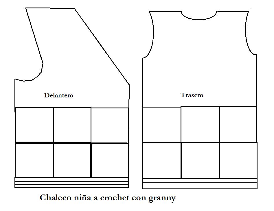 6-como-hacer-un-chaleco-en-crochet-niña