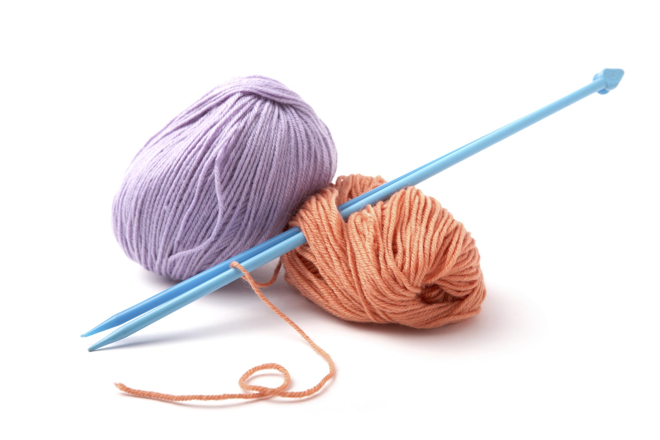 Como aprender a tejer con dos agujas en pocos pasos - Bolsa para guardar agujas de tejer ...