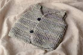 como hacer chalecos de bebe a crochet fácilmente y geniales a50d8c73b48
