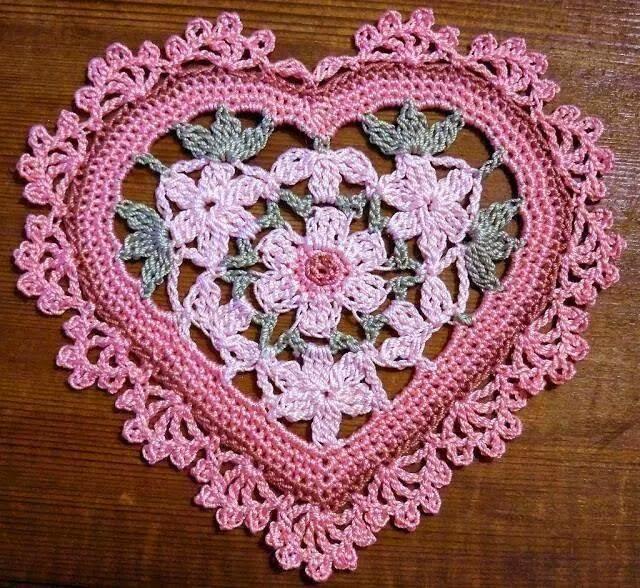 Cómo hacer un corazón a crochet de forma rápida y fácil