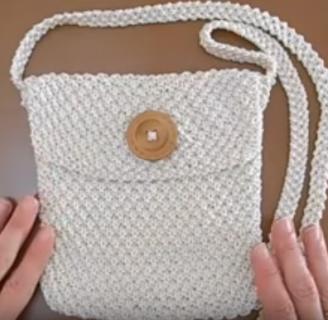 como aprender a tejer bolsos fácilmente. No te pierdas estas instrucciones