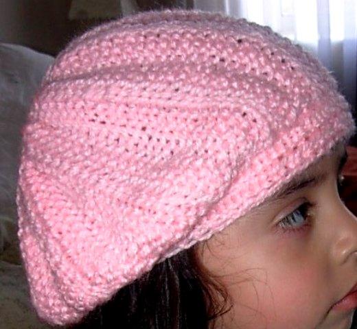 Gorros de lana tejidos con dos agujas fcdab393f39