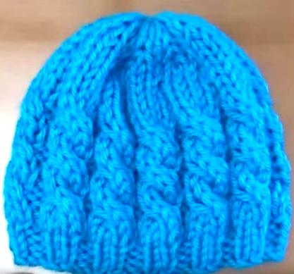 655716d49 como hacer boinas de lana con dos agujas y crea tu mejor estilo