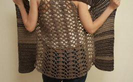 como hacer chalecos a crochet para invierno. Aprende estos sencillos pasos