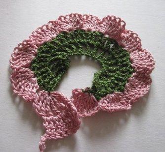 Como hacer flores de lana a crochet distintas y bonitas - Como hacer punto de lana para principiantes ...
