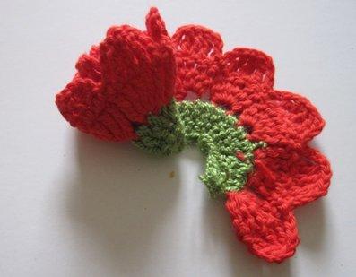 Como Hacer Flores De Lana A Crochet Distintas Y Bonitas - Como-hacer-una-flor-de-lana
