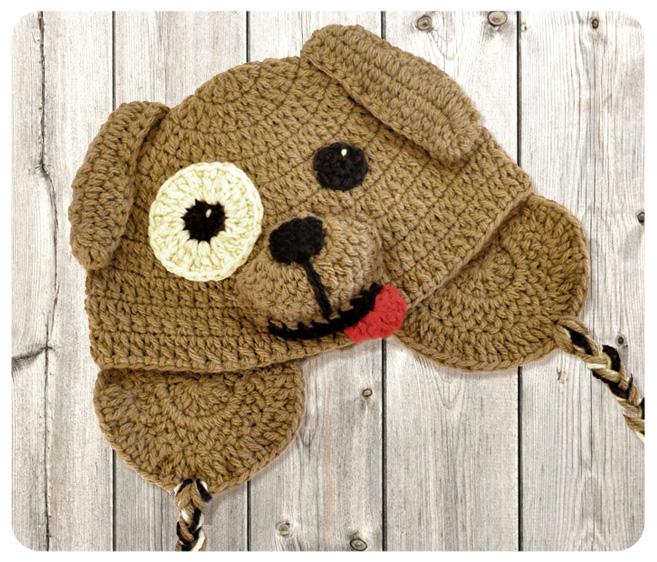 como hacer gorros de animales a crochet para niñas