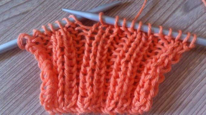 Como hacer gorros de lana con dos agujas para ni os - Hacer punto con dos agujas para principiantes ...
