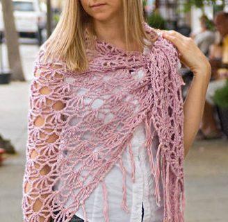 como hacer un chal a crochet muy elegante: mira estas instrucciones