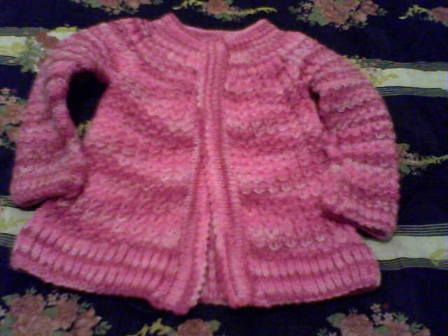 Como hacer un saco en dos agujas para ni a facilmente - Como hacer punto de lana paso a paso ...