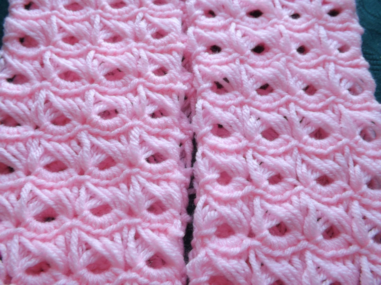 como hacer una bufanda a crochet con palo de escoba