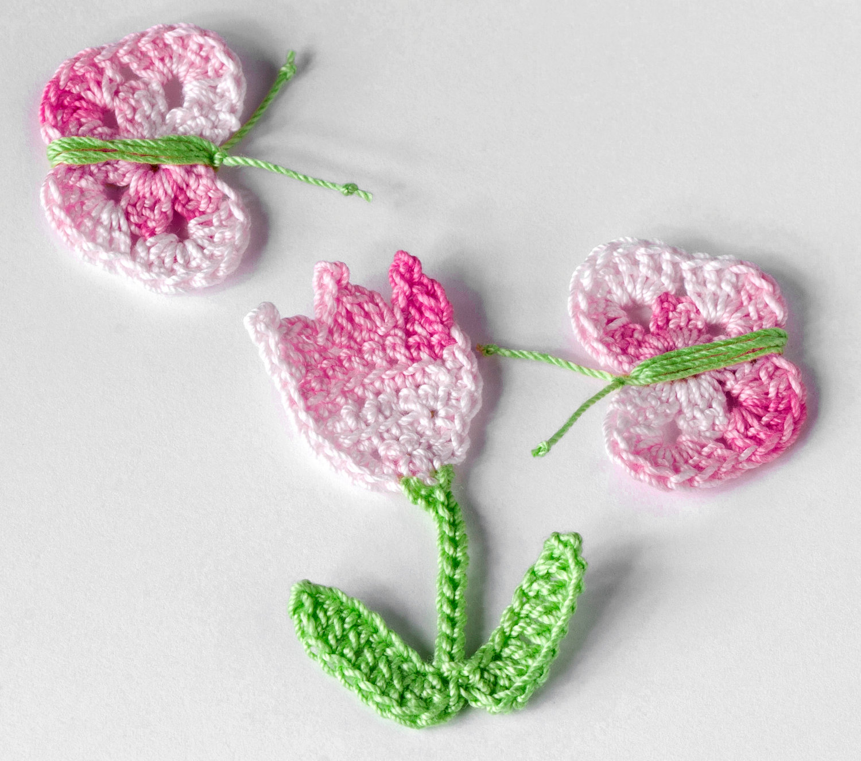 Como hacer una flor a crochet para adornar cualquier accesorio - Como hacer cosas de ganchillo ...
