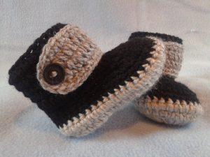 d9323481 como hacer zapatitos de bebe a crochet fácilmente en pocos pasos
