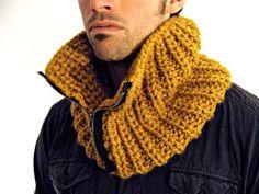 como hacer bufandas de punto con dos agujas-7
