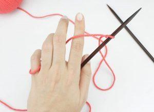 como hacer bufandas de punto con dos agujas-21