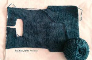 como hacer jersey de bebe con dos agujas-5
