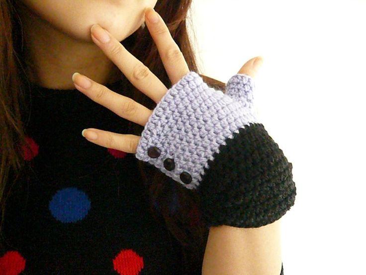 Moderno Guantes Patrón De Crochet Libre Ideas - Ideas de Patrones de ...