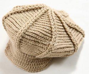como hacer una gorra con dos agujas-5