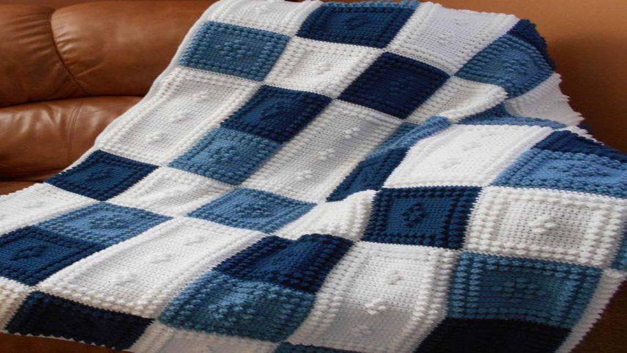 Como hacer una manta con dos agujas para ni os peque os - Como hacer una manta de lana para el sofa ...