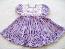 0f06db29c como hacer vestidos a crochet para niña recien nacida